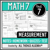 Measurement: Area and Volume (Math 7 Curriculum - Unit 7)