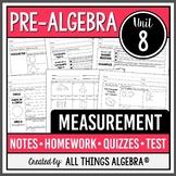 Measurement: Area and Volume (Pre-Algebra Curriculum - Unit 8) DISTANCE LEARNING