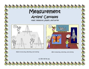 Artists' Canvases - Measuring to the nearest inch and centimeter