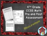 Measurement Assessment CCSS Aligned