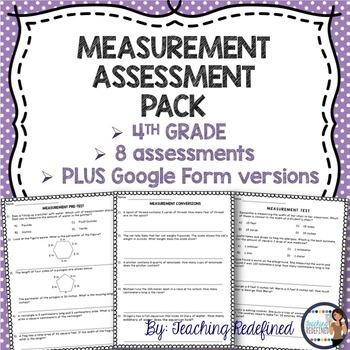 Measurement Assessment Pack