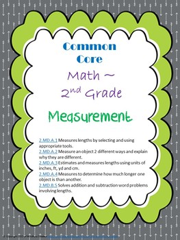 Measurement Assessment Packet