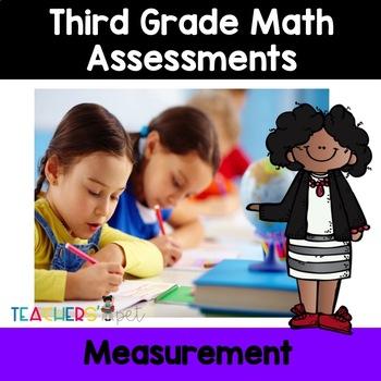 Measurement Assessments: Area, Perimeter, Length and Liquid Volume