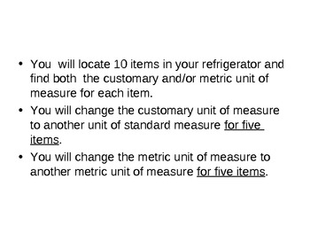 Measurement At Home Project
