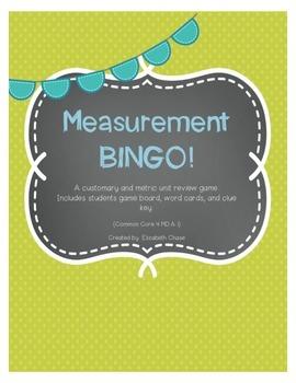 Measurement BINGO