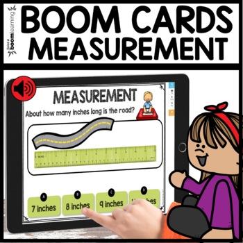 Measurement BOOM CARDS