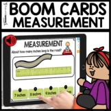 Measurement BOOM CARDS Distance Learning