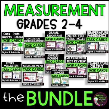 Measurement BUNDLE (Customary and Metric!)