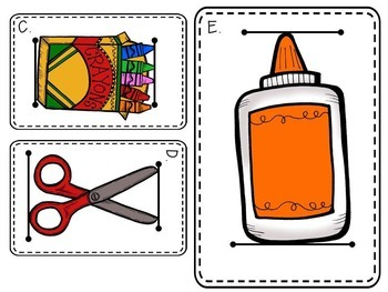 Measurement - Back To School -Centers, Activities, Printables