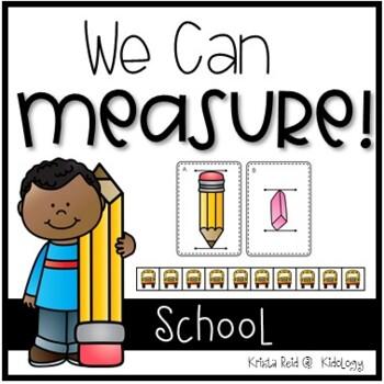 Measurement - Back To School -Centers, Activities, Printables