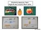 Measurement Bats, Fall, Turkeys, Pumpkins, Spiders, Ghosts - Kindergarten Math