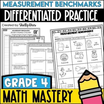 Measurement Benchmarks Worksheets