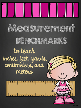 Measurement Benchmarks- Anchor Charts to Teach Units and Estimation