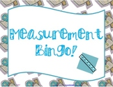 Measurement Bingo--With Real Lines to Measure