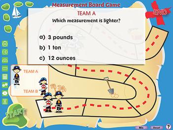 Measurement: Board Game - MAC Gr. 3-5