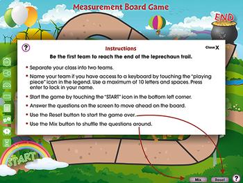 Measurement: Board Game - MAC Gr. 6-8
