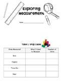 Measurement Booklet