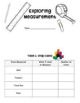 Measurement Booklet