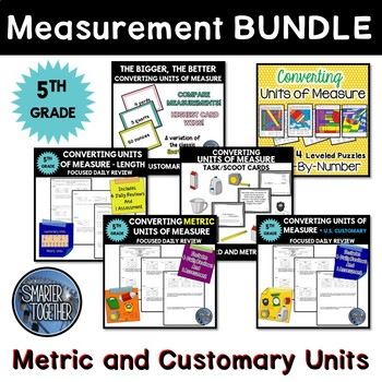 Converting Units of Measure Bundle