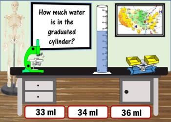 Measurement Bundle - (Length, Liquid, Mass, Temperature) 96 Boom Cards!