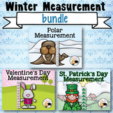 Winter Measurement Bundle Non-Standard Units