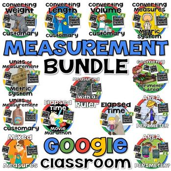 Measurement Bundle for GOOGLE CLASSROOM