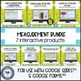 Measurement Bundle for use with Google Slides™ & Forms™