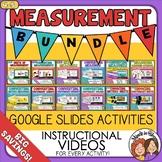 Measurement Bundle of Google Slides Digital Activities 4th