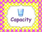 Measurement: CAPACITY