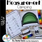 Measurement Camping Math Center   Pre-k and Kindergarten