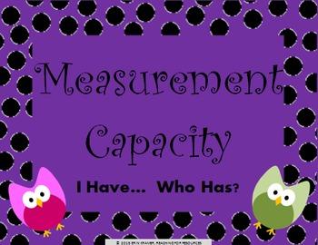 Measurement Conversions Capacity