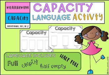 Measurement - Capacity language