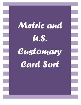 Measurement Card Sort