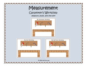 Carpenter's Workshop - Measuring to the nearest inch, half-inch, and centimeter
