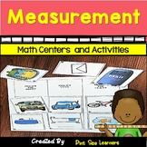 Kinder and 1st Grade Measurement Activities | Centers | Worksheets