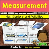 Kinder and 1st Grade Measurement Activities | Centers | Wo