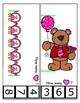 Measurement Center Clip Cards ~ Valentine's Day for Preschool / Kindergarten