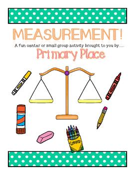 Measurement Center- Using a Classroom Balance!