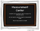 Measurement Center (non-standard units)