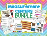 Measurement Centers BUNDLE!!! 9 centers with ANSWER KEYS!!  - GO MATH! Chapter 8