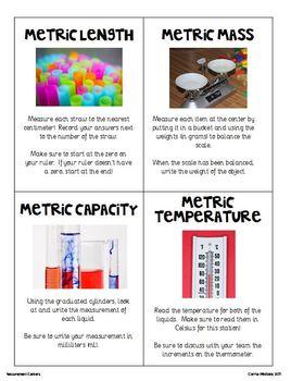 Measurement Centers Set