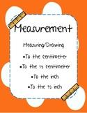 Measurement: Centimeters & Inches