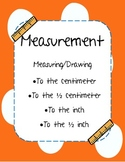 Measurement: Centimeters & Inches