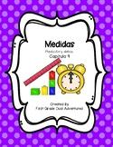 Measurement  Chapter 9 (Spanish Practice Worksheets)