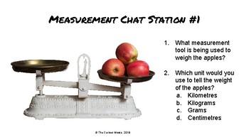 Measurement Chat Stations (Metric)