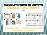 Measurement: Choose a Tool to Measure with - GO MATH! Chapter 8