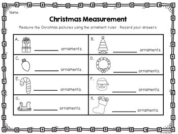 Measurement / Non Standard Measurement / Measurement Practice