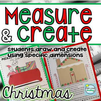 Measurement Activities Christmas Theme ~ Christmas Math ~ Christmas Measurement