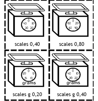 Measurement Clip Art - Capacity, Clocks, Rulers, Scales, Thermometers