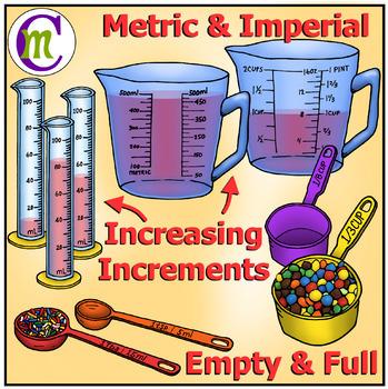 Measurement Clip Art | Volume